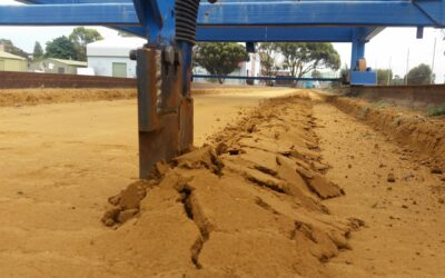 The application of bent leg technologies to higher speed tined seeding of cereal grains (USA114)