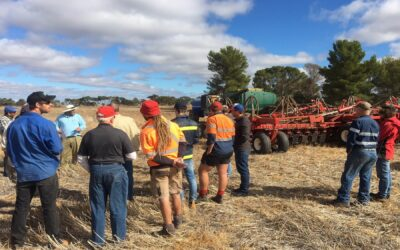 Farm Scale AquaTill Demonstration and Field Day (SAN117)